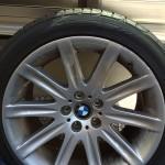 BMWホイール 修理前全体写真