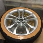 Audi S4修理前全体画像
