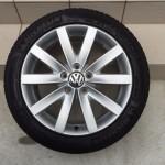 VW GOLF 修理前全体画像
