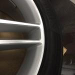 AMGシルバーホイール修理後拡大画像
