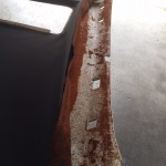 BMW天井張替修理前 拡大画像