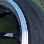 ADVAN Racing 修理前拡大画像