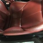 BMW Z3レザーシート修理前②