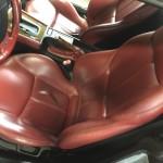 BMW Z3レザーシート修理前①